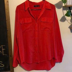 Apt. 9 red blouse